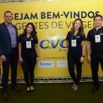 Mauricio Xavier, Thalita Carrião,  Luana Barbosa, e Rogerio Mendes, da CVC Corp