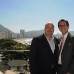 Michael Nagy, diretor de Marketing e Vendas, e Netto Moreira, gerente geral do Fairmont