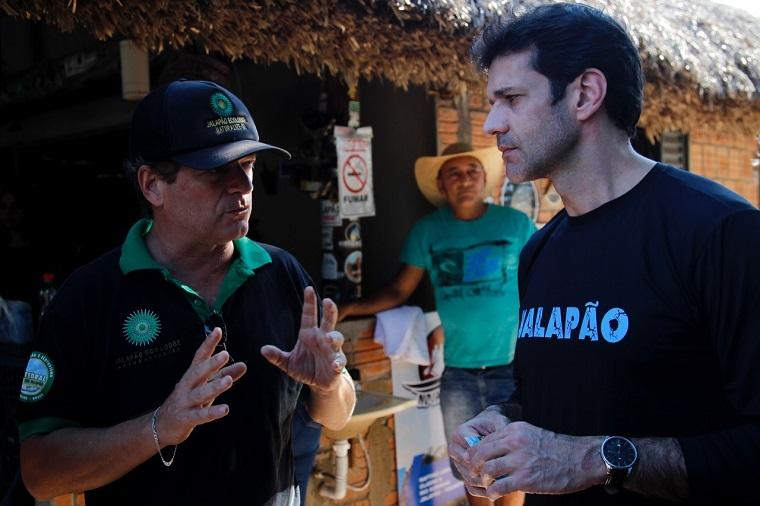 Ministro Marcelo Ávaro Antônio visitou o Jalapão