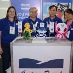 Monica Ieka, Celso Katsumi, Takaharu Fuji e Naomi Yabusaki, da Century Travel
