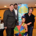 Mustafá Dias, da secretaria de Turismo do Recife, Juliano Braga e Mari Masgrau, do M&E
