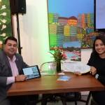 Rafael Fonseca e Barbara Guerreiro, do Residence Inn
