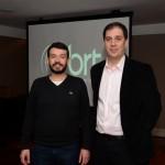 Raphael Bello, da Bird Viagens, e Diego Guerreiro, da BRT