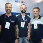 Raphael Magalhães, Lucas Carvalho e Roberto D'andréa, da Visual Turismo