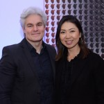 Rodrigo Pereira, da Hertz Internacional, e Ana Taquecita, da New Age