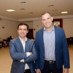 Rogério Mendes e Maurício Xavier, da CVC Corp