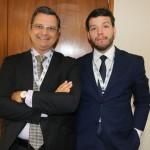 Roland Klein, consultor, e Leonardo Ferreira, advogado