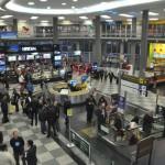 Saguão do Aeroporto de Congonhas