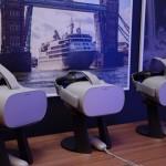 Óculos de realidade virtual com os vídeos do Celebrity Edge e Pullmantur