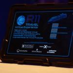 Com o tablete da Sala Imersiva da R11 é possível aumentar a realidade