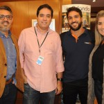 Santiago Bichon, da Nice Via Apia, José Antonio Prazeres, da Twister, Bruno Lamori, da HotelDO, e Carla Salgueiro, da Twister
