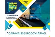 Caravanas Rodoviárias da Abav Expo já estão sendo comercializadas; veja roteiros