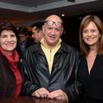 Silvia Sá e Wilson Azevedo, da Tablet Tur, e Sandra Passetto, da Air Canada