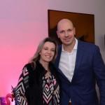 Simone Kruger, da American Airlines, e Marcelo Kaiser, da Aviareps