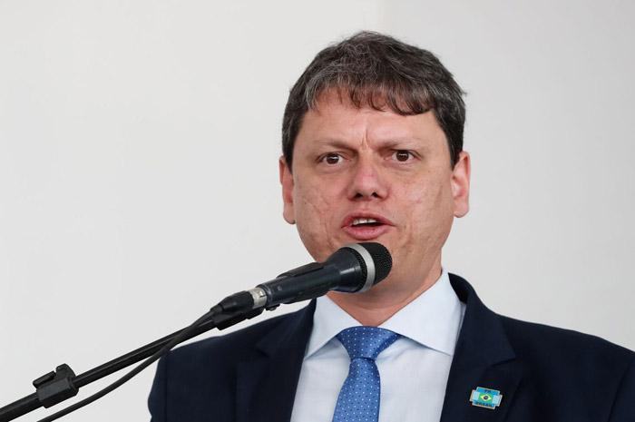 Tarcisio Freitas, ministro da Infraestrtura (Foto: Agência Brasil)
