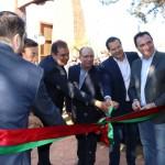 Executivos inauguram Vale dos Dinossauros em Olímpia