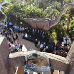 Visitantes conhecem novo parque em Olímpia
