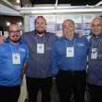 Valmir Moraes, Marcelo Andrade, Antonoio Coutinho e Jair Navarro, da Transmundi