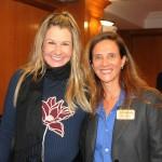 Viviane Fernandes, da Nice Via Apia, e Jane Terra, do Visit Orlando