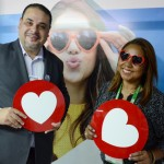 Washington Sena e Neumari Cristhine, diretores de promoção da secretaria de Turismo de Foz do Iguaçu