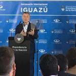 Mauricio Macri comparceu à inauguração do voo Puertp Iguazu-Madri, da Air Europa