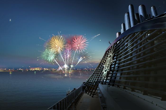 Os cruzeiros terão programação especial para os hóspedes se despedirem de 2019 e darem as boas-vindas a 2020 em grande estilo