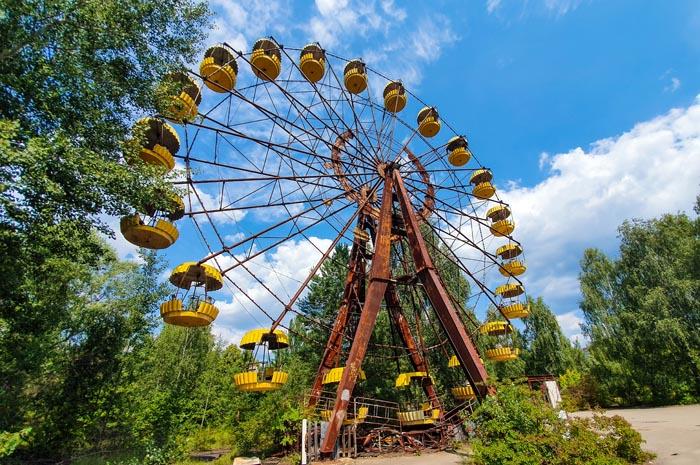 Parque de diversões - Chernobyl