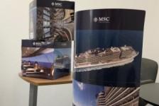 MSC Cruzeiros distribui kits de promoção para 600 agências de viagens