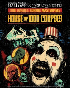 """A Casa dos 1000 Corpos"" do Halloween Horror Nights"
