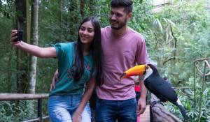 Parque das Aves bate recorde histórico de visitação