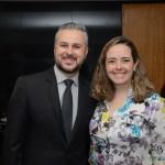Adonai Silva e Renata Pestana, da Gol