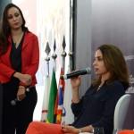 Adriana Paiva, diretora da Ameris By Nobile, e Marta Poggi, palestrante