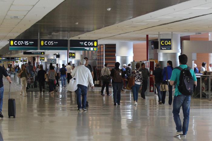 Viagens internacionais pelo terminal cresceram 51,46% no mesmo período