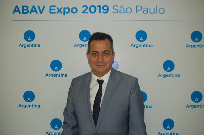 Alejando Lastra, secretário de Desenvolvimento e Promoção Turística do Ministério do Turismo da Argentina