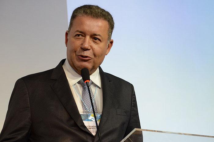 Alexandre Sampaio, presidente da FBHA