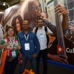 Alexandre e Denilson Pettan, da Ativa Ecoturismo, e Maciel Moreira, da Blessed Travel