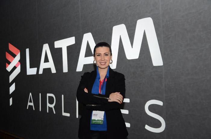 Aline Silva, da Latam Airlines