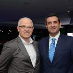 Altamiro Medici, da SAA, e Carlos Antunes, da Copa Airlines