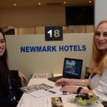 Amanda Nunes, da Viagens & Cia, e Lina Nel, da New Mark Hotels