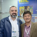 Anderson MAsetto, do M&E, e Tanabe, da Abracorp