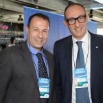 André Allegri, da CVC Corp, e Massino Brancaleone, Senior Vendas Globais