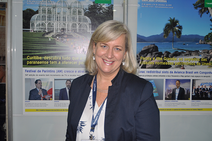 Annette Taeuber, da Lufthansa