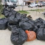 Aqui o lixo já estava devidamente separado e pronto para ser coletado e reciclado