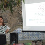 Aurea Carvalhal agradeceu aos parceiros e agentes convidados e apresentou as novidades da Blanctour para a temporada 2019-2020