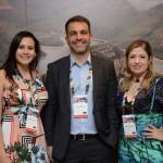 Bárbara Francelino, Marcelo Marques e Fabiana Magalhães, da South African Tourism