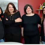 Beatrice Borges, Magda Nassar, Jerusa Hara, e Fatima Gatoeiro
