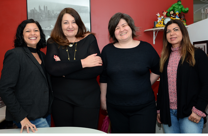 Beatrice Borges, Magda Nassar, Jerusa Hara, e Fatima Gatoeiro (Foto: Eric Ribeiro)