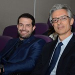 Bruno Cordaro, da MSC, e Marcos Ferraz, da Clia Brasil