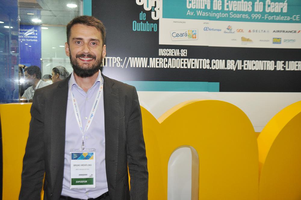 Bruno Wendling, presidente do Fornatur e do Fundtur-MS