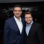 Carlos Antunes, da Copa Airlines, e André Khouri, da CNT